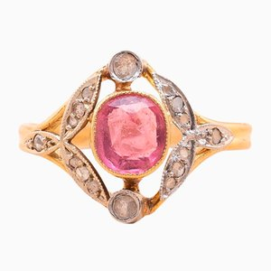 Marion Turmalin Ring, 1920er