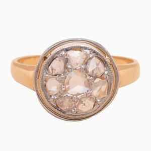 Anello Maddy in oro e diamanti, anni '20