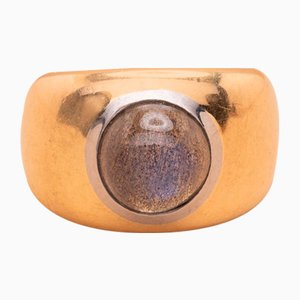 Römischer Labradorit Ring, 1990er