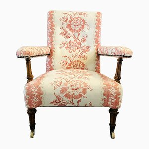 Antique Victorian Small Open Armchair from Felford & Co
