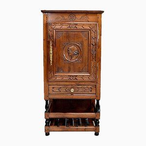 Mid-19th Century Pantry Drainage Rack in Solid Chestnut
