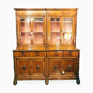 Antique Cherry Bookcase