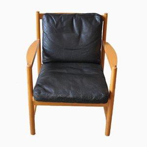 Model 2100 Armchair by Børge Mogensen for Fritz Hansen, 1972