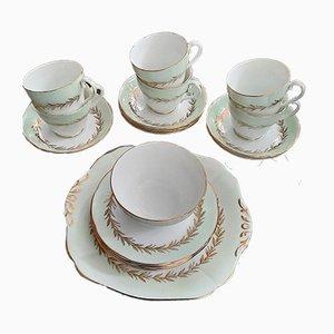 Geschirr Set von Adderley Potteries, 1950er, Set of 20