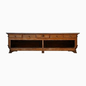Antique Italian Charcuterie Kitchen Island Counter