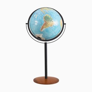 Illuminated Floor Globe from Scan Globe Denmark, 1990s