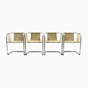 Suspended Chairs, 1970s, Set of 4