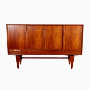 Vintage Danish Teak Credenza by Axel Christensen for ACO, 1960s