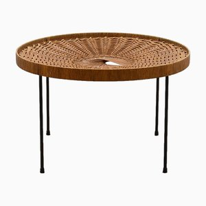 Tavolino in vimini, anni '60