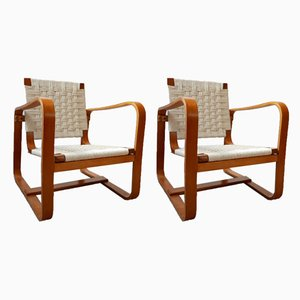 Armchairs by Giuseppe Pagano, 1942, Set of 2