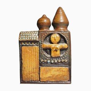 Skulpturaler Keramik-Bau aus der Sammlung Bagdad von Bertil Vallien für Gustavsberg, 1960er