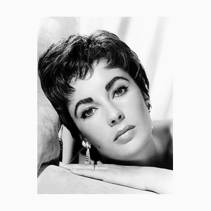 Elizabeth Taylor in Giant Archival Pigment Print Framed in White by Everett Collection