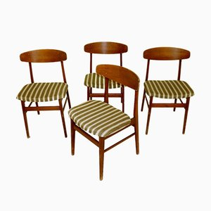 Teak Dining Chairs from Sax, 1960s, Set of 4