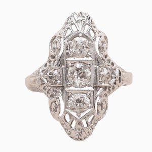 Diamond Angela Ring, 1912