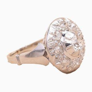 Anillo Diamond Target, años 20