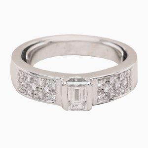 Anillo Emy vintage de oro y diamantes