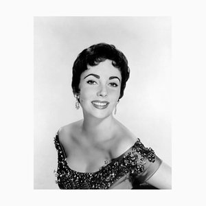 Fashionable Elizabeth Taylor Archival Pigment Print Framed in Black by Everett Collection