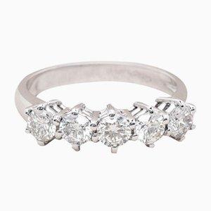 Alianza de boda Carina Diamond vintage