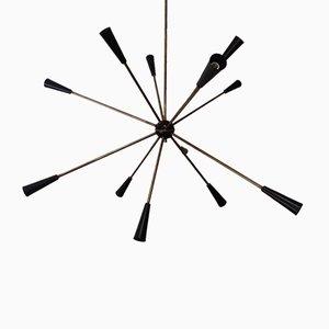 Vintage Sputnik Ceiling Lamp from Stilnovo