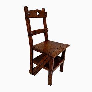 Chaise de Bibliothèque Victorienne en Métamorphique