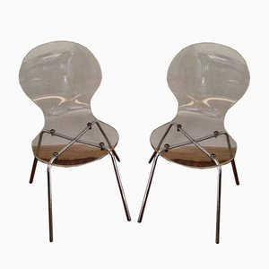 Side Chairs, 1970s, Set of 2