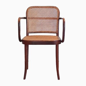 No. 811 or Prague Chairs by Josef Hoffmann for Ligna, 1970s, Set of 6