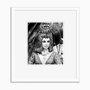 Taylor as Cleopatra Archival Pigment Print Framed in White by Everett Collection