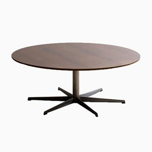 Rosewood 6-Star Series Coffee Table by Arne Jacobsen for Fritz Hansen, 1971