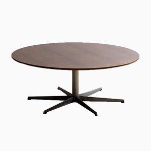 Tavolino da caffè serie 6 stelle in palissandro di Arne Jacobsen per Fritz Hansen, 1971