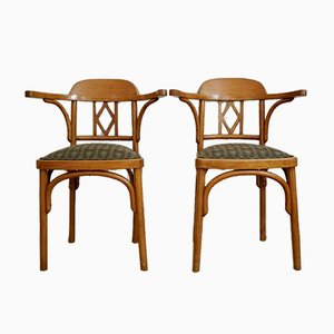 Vienna Secession Bentwood Chairs from Jacob & Josef Kohn, 1916, Set of 2