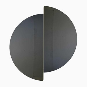 Luna™ Half Moon Black Tinted Frameless Mirror Regular by Alguacil & Perkoff Ltd, Set of 2