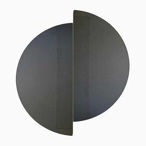 Luna™ Half Moon Black Tinted Frameless Mirror Regular by Alguacil & Perkoff Ltd, Set of 2