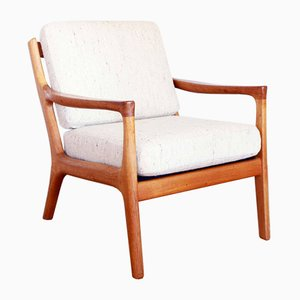 Scandinavian Lounge Chair by Ole Wanscher, 1960s