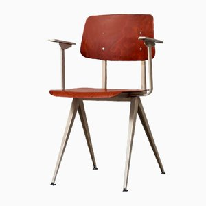 Model S16 Armchair or Desk Chair from Galvanitas, 1960s