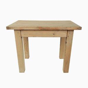 Tavolino da caffè Mid-Century minimalista in pino, Francia