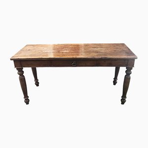 Antique Dining Table in Walnut