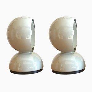 Eclisse Tischlampen von Vico Magistretti für Artemide, 1960er, 2er Set