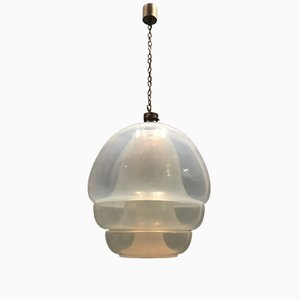 LS134 Jellyfish Murano Ceiling Lamp by Carlo Nason for Mazzega, 1960s