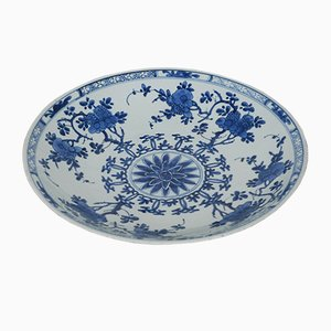 Chinese Porcelain Charger Plate, 17th-Century