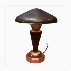 Lampada da tavolo a forma di fungo Art Déco, anni '20