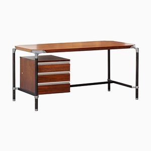 Rosewood Desk by Luisa & Ico Luisa Parisi for MIM, 1960s