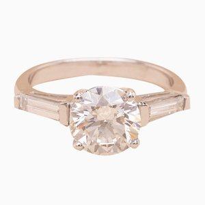 Anillo Lisa vintage 2.02 en forma de diamante