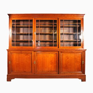 19th Century England Light Mahogany Bookcase