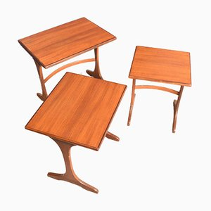 Teak Fresco Nesting Tables from G-Plan, 1960s