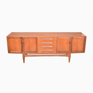 Teak Fresco Long Sideboard by Viktor Wilkins for G-Plan, 1960s