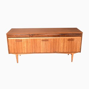 Teak, Rosewood & Zebrano Sideboard from Elliots of Newbury, 1960s