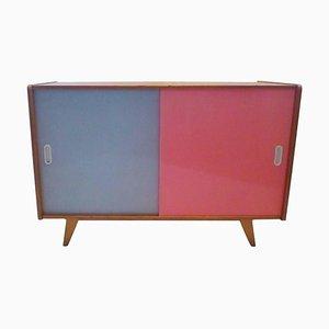 2 Sideboard mit Schiebetüren von Jiri Jiroutek für Interiér Praha, 1960er