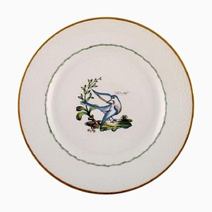 Royal Copenhagen Dinner Plate in Hand-Painted Porcelain