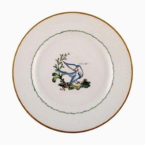 Royal Copenhagen Teller aus handbemaltem Porzellan