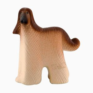 Dog in Glazed Ceramic by Lisa Larson for K-Studion & Gustavsberg